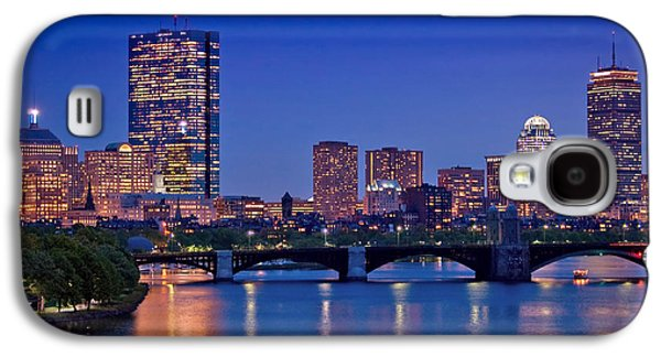 City Scene Galaxy S4 Cases - Boston Nights 2 Galaxy S4 Case by Joann Vitali