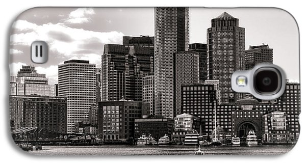 Business Galaxy S4 Cases - Boston Galaxy S4 Case by Olivier Le Queinec
