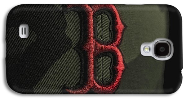 Red Photographs Galaxy S4 Cases - Boston Red Sox Galaxy S4 Case by David Haskett
