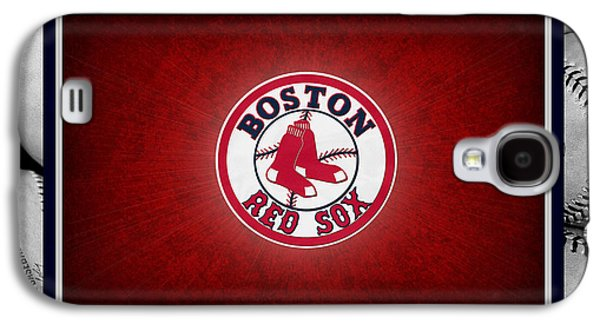 Base Galaxy S4 Cases - Boston Red Sox Galaxy S4 Case by Joe Hamilton