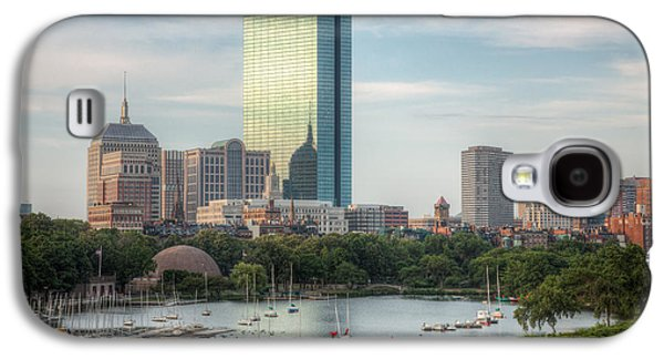 Charles River Galaxy S4 Cases - Boston Skyline I Galaxy S4 Case by Clarence Holmes