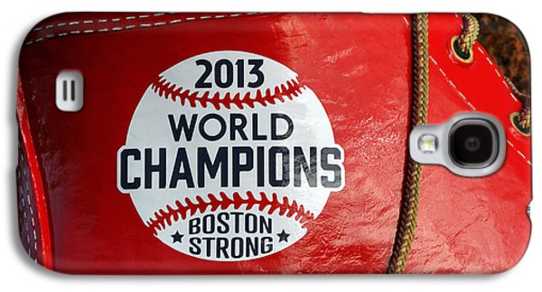 Red Sox Art Galaxy S4 Cases - Boston Strong 2013 World Champions Galaxy S4 Case by Juergen Roth