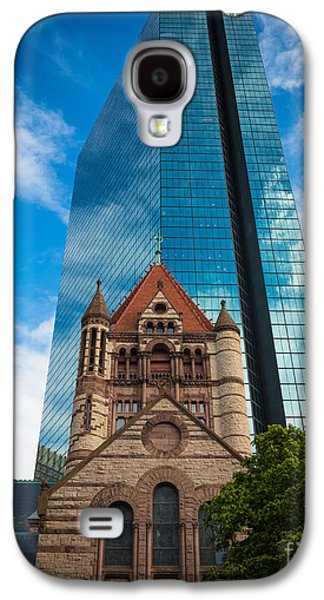 Recently Sold -  - Landmarks Photographs Galaxy S4 Cases - Boston Trinity Church Galaxy S4 Case by Inge Johnsson