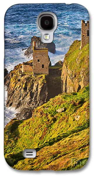 Mining Photos Galaxy S4 Cases - Botallack Galaxy S4 Case by Louise Heusinkveld