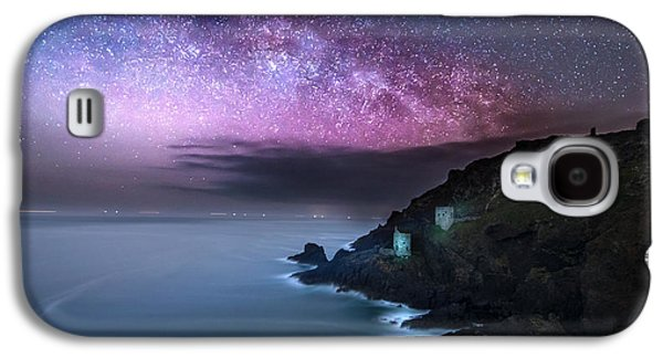 Stargazing Galaxy S4 Cases - Botallack Mines Galaxy S4 Case by Ollie Taylor