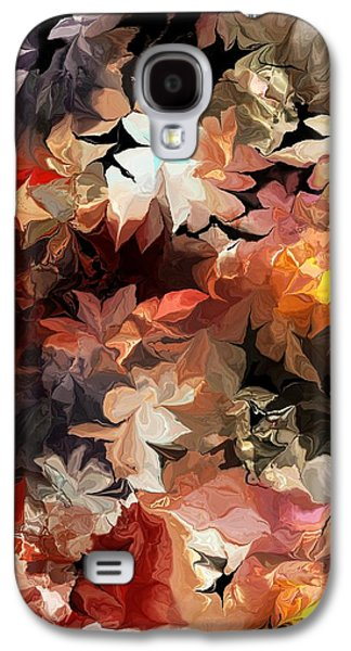 Abstract Digital Art Galaxy S4 Cases - Botanical Fantasy 061713 Galaxy S4 Case by David Lane