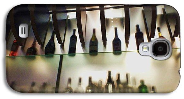 Anna Villarreal Garbis Galaxy S4 Cases - Bottles at the Bar Galaxy S4 Case by Anna Villarreal Garbis