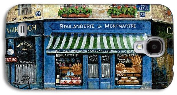 Boulangerie De Montmartre Galaxy S4 Case by Marilyn Dunlap