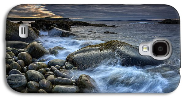 Maine Beach Galaxy S4 Cases - Boulder Beach Dawn Galaxy S4 Case by Rick Berk