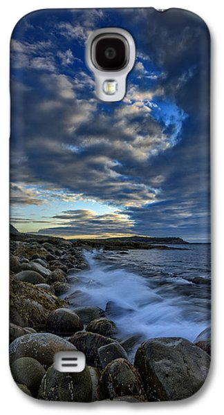 Maine Beach Galaxy S4 Cases - Boulder Beach Galaxy S4 Case by Rick Berk