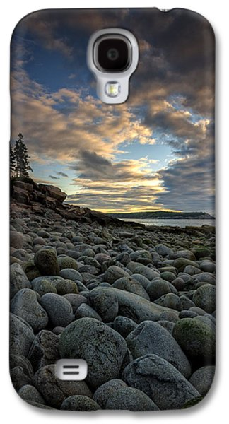 Maine Beach Galaxy S4 Cases - Boulder Beach Sunrise Galaxy S4 Case by Rick Berk