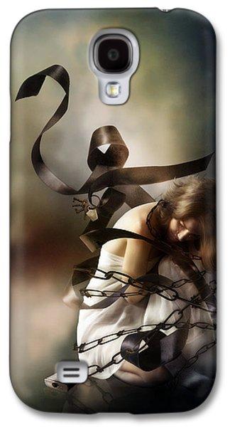 Slaves Digital Galaxy S4 Cases - Bound by Duty Galaxy S4 Case by Karen K
