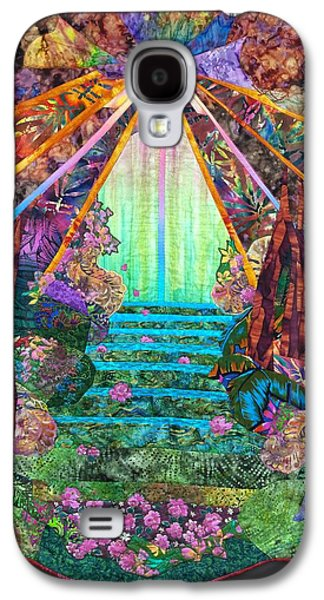 Mystical Tapestries - Textiles Galaxy S4 Cases - Boundless Compassion Galaxy S4 Case by Carol Bridges