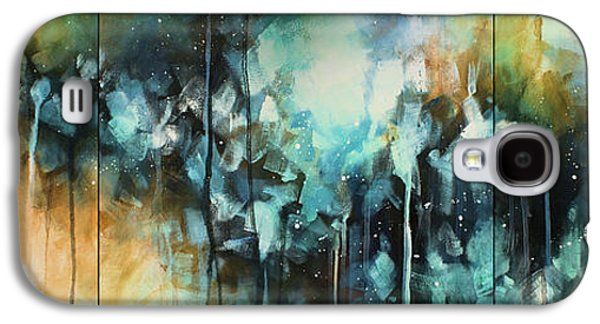 Abstract Movement Galaxy S4 Cases - Bounty Galaxy S4 Case by Michael Lang