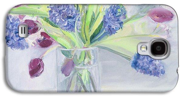 Cut Flowers Galaxy S4 Cases - Bouquet  Mixed Bunch Galaxy S4 Case by Sophia Elliot