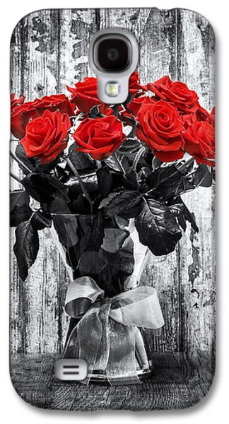 Style Life Photographs Galaxy S4 Cases - Bouquet of Roses Galaxy S4 Case by Wim Lanclus