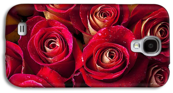 Boutique Roses Galaxy S4 Case by Garry Gay