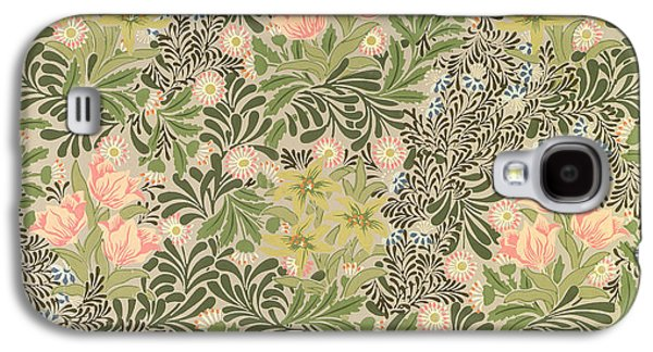 Floral Tapestries - Textiles Galaxy S4 Cases - Bower design Galaxy S4 Case by William Morris