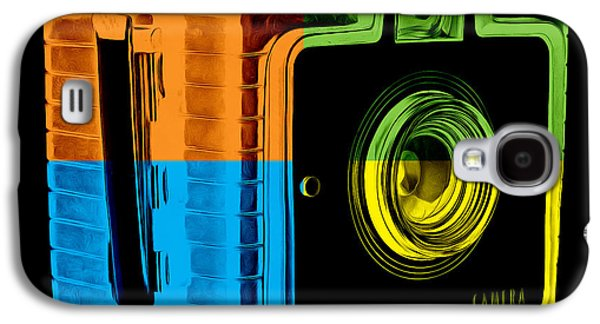 Box Galaxy S4 Cases - Box Camera Pop Art 2 Galaxy S4 Case by Edward Fielding