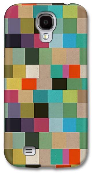 """""""geometric Art"""" Galaxy S4 Cases - Boxed Galaxy S4 Case by Bri Buckley"""
