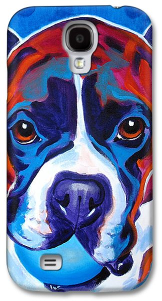 Boxer Galaxy S4 Cases - Boxer - Atticus Galaxy S4 Case by Alicia VanNoy Call