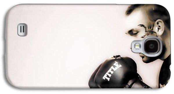 Boxer Digital Art Galaxy S4 Cases - Boxer Antique Galaxy S4 Case by   Waite