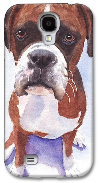 Boxer Galaxy S4 Cases - Boxer Galaxy S4 Case by Linda Halom