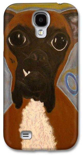 Boxer Pastels Galaxy S4 Cases - Boxer Love Galaxy S4 Case by Doug Chambers