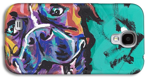Boxer Galaxy S4 Cases - Boxer Luv Galaxy S4 Case by Lea