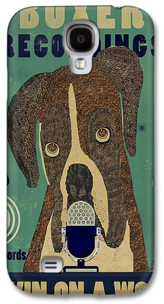 Recently Sold -  - Boxer Digital Galaxy S4 Cases - Boxer Records Galaxy S4 Case by Bri Buckley
