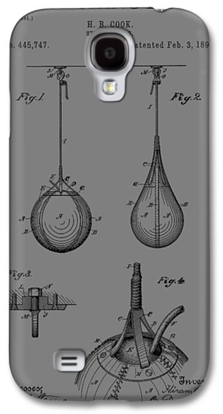Boxing Bag Patent Galaxy S4 Case by Dan Sproul