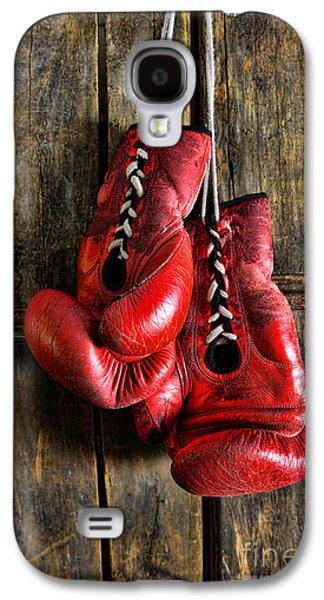 Punching Galaxy S4 Cases - Boxing Gloves - Now retired Galaxy S4 Case by Paul Ward