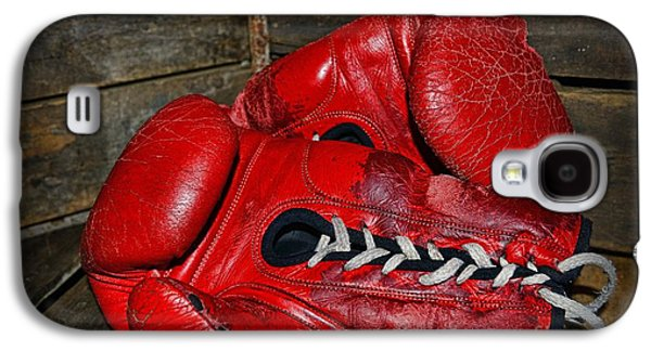 Boxer Galaxy S4 Cases - Boxing Gloves Galaxy S4 Case by Paul Ward