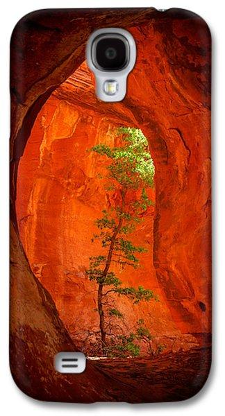 Warm Galaxy S4 Cases - Boynton Canyon 04-343 Galaxy S4 Case by Scott McAllister