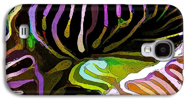 Photo Manipulation Galaxy S4 Cases - Brain Coral Abstract 1 Galaxy S4 Case by Bill Caldwell -        ABeautifulSky Photography