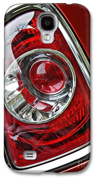 Glass Reflections Galaxy S4 Cases - Brake Light 25 Galaxy S4 Case by Sarah Loft