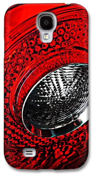 Glass Reflections Galaxy S4 Cases - Brake Light 3 Galaxy S4 Case by Sarah Loft