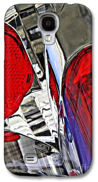 Glass Reflections Galaxy S4 Cases - Brake Light 35 Galaxy S4 Case by Sarah Loft