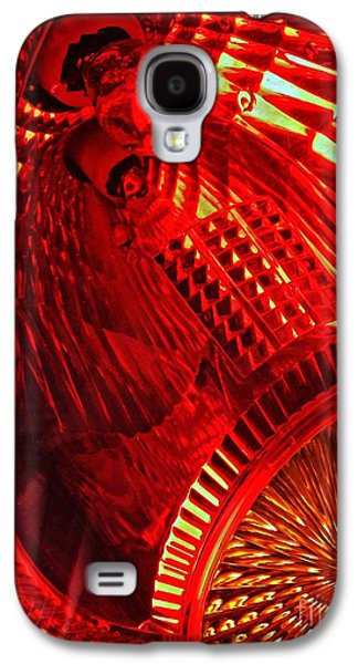 Glass Reflections Galaxy S4 Cases - Brake Light 42 Galaxy S4 Case by Sarah Loft