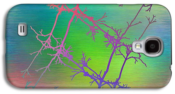 Nature Abstracts Galaxy S4 Cases - Branches In The Mist 59 Galaxy S4 Case by Tim Allen