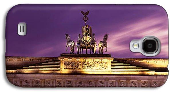 Berlin Germany Galaxy S4 Cases - Brandenburg Gate, Berlin, Germany Galaxy S4 Case by Panoramic Images