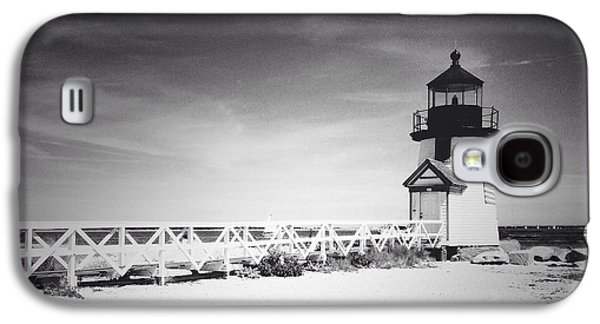 Recently Sold -  - Studio Photographs Galaxy S4 Cases - Brant Point Lighthouse Galaxy S4 Case by Natasha Marco