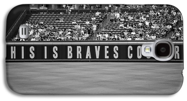 Game Photographs Galaxy S4 Cases - Braves Country Galaxy S4 Case by Sara Jackson