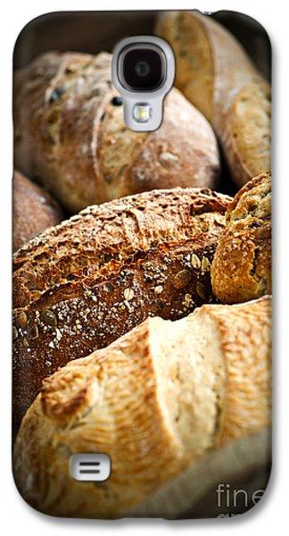 Artisan Galaxy S4 Cases - Bread loaves Galaxy S4 Case by Elena Elisseeva