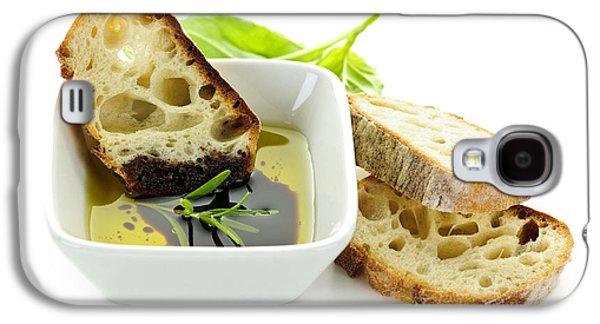 Vinegar Galaxy S4 Cases - Bread olive oil and vinegar Galaxy S4 Case by Elena Elisseeva