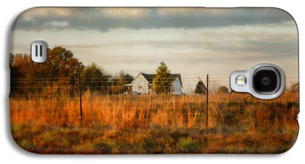 Autumn In The Country Galaxy S4 Cases - Breakfast At The Farm House Galaxy S4 Case by Jai Johnson