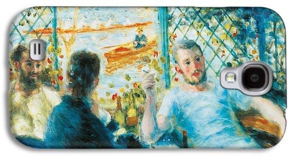 Breakfast By The River Galaxy S4 Case by Pierre-Auguste Renoir
