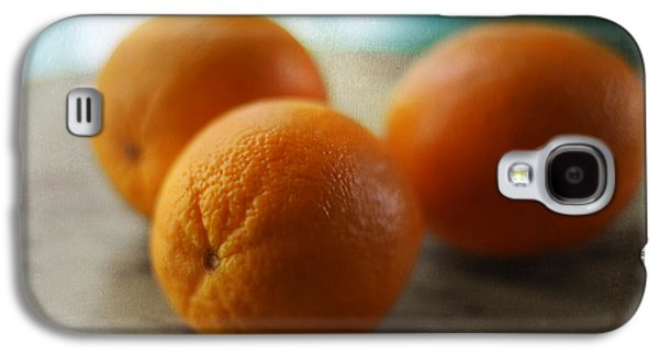 Kitchen Photos Galaxy S4 Cases - Breakfast Oranges Galaxy S4 Case by Amy Tyler