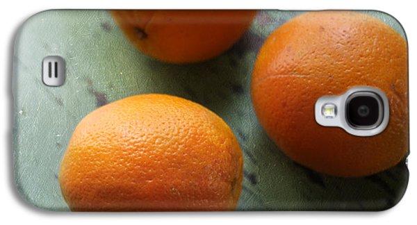 Kitchen Photos Galaxy S4 Cases - Breakfast Oranges II Galaxy S4 Case by Amy Tyler