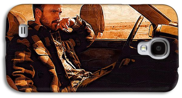 Rowboat Digital Art Galaxy S4 Cases - Breaking Bad Art Prints Galaxy S4 Case by Victor Gladkiy